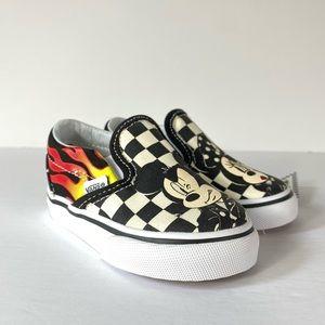 Vans x Disney Slip-On Mickey & Minnie Sneakers